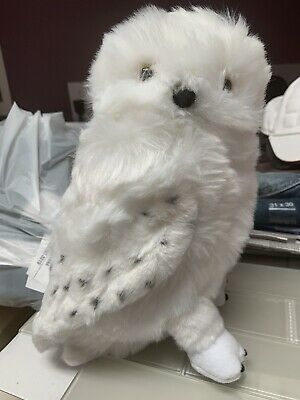 2020 Hedwig Owl * Mint With Tags 10 Inch Tall Harry Potter The Noble Collection