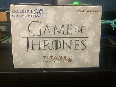 "Game of Thrones 6.5"" Titans Vinyl Dragon Figure Hot Topic Excl"