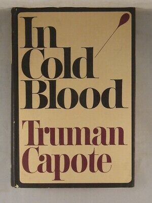 IN COLD BLOOD by Truman Capote 1965 First Edition Hardcover SIGNED by Capote!
