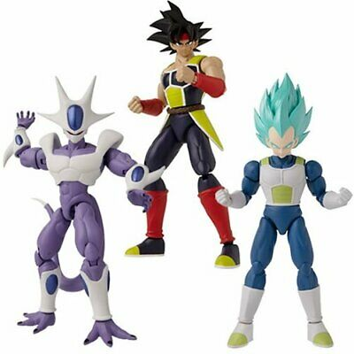 Dragon Ball Stars Action Figure Wave 16 Set of 3 Figures by Bandai