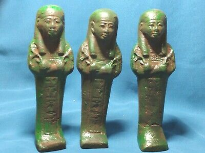 The statues of the servants of Ancient Egypt