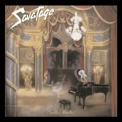 Savatage - Gutter Ballet - Savatage CD 5VVG The Cheap Fast Free Post The Cheap