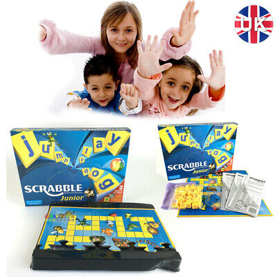 Scrabble Version Junior Kids Board Game Family Gathering Funny Fun Toys Gifts UK