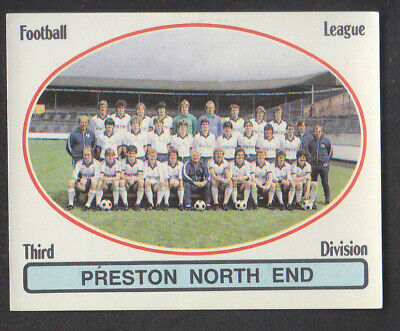 Panini - Football 82 - # 405 Preston Team Group