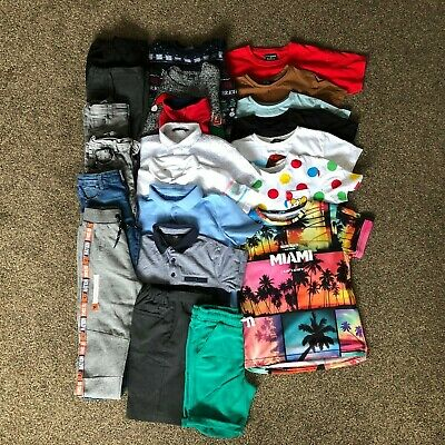 Boys Clothes Bundle Age 7-8 Years, 22 x Items inc Next and George