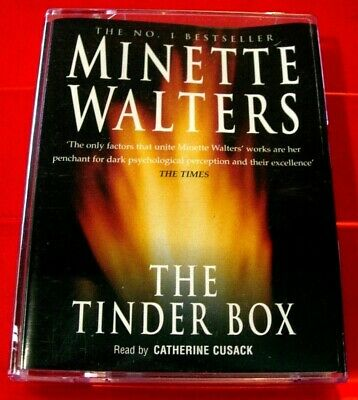 Minette Walters The Tinder Box 2-Tape Audio Book Catherine Cusack Crime Thriller