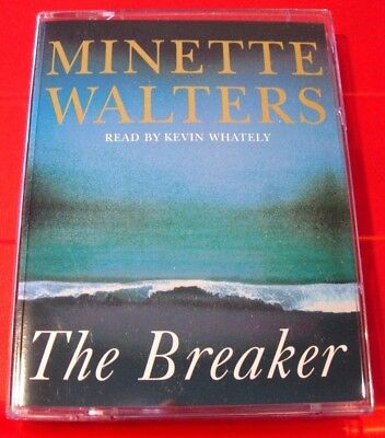 Minette Walters The Breaker 2-Tape Audio Book Kevin Whately Thriller