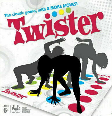 For Funny Twister The Classic Game      Body Game  Family Party Games T5Z6J