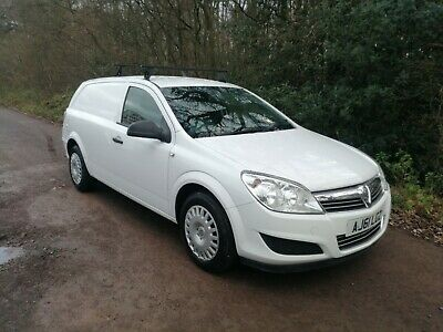 2012 VAUXHALL ASTRA VAN 1.7 CDTi CLUB ECOFLEX. ONE YEARS MOT
