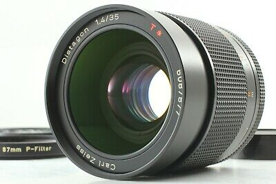 [MINT] Contax Carl Zeiss Distagon T* 35mm f/1.4 AEG C/Y Mount From JAPAN #294