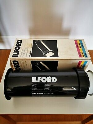 Ilford Print Processing Drum.Cibachrome   20x25cm / 10x8 inches.