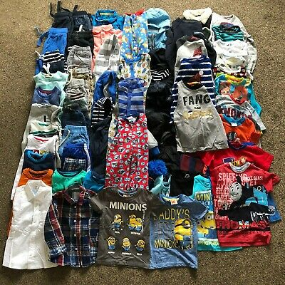 HUGE Boys Clothes Bundle Age 3-4 Years, 57 x Items inc Jasper Conran and Next