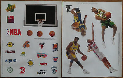 1993 Upper Deck NBA 2 Sheets Stickers