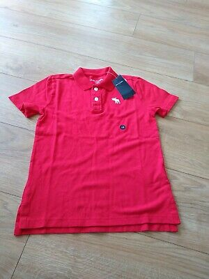 Abercrombie and fitch Boys Age 7 To 8 Polo Shirt Bnwt