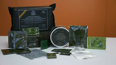 Spanish Mre, Army Ration, Emergency, Meal Ready To Eat, Canned Food, Military