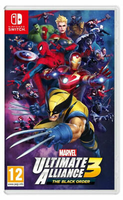 NINTENDO SWITCH Marvel Ultimate Alliance 3: The Black Order - Currys