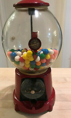 Advance Penny Service Round The Clock Gumball Machine