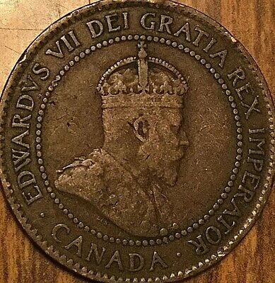 1902 Canada Large Cent Penny 1 Cent