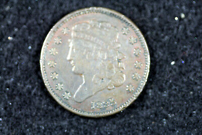 Estate Find 1835 Classic Head Half Cent  #D14512
