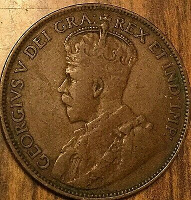 1914 Canada Large Cent Penny 1 Cent