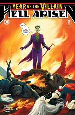 Year of the Villain Hell Arisen #3 1ST APPEARANCE PUNCHLINE HOT BOOK! COPY 2