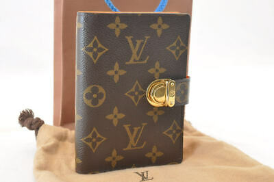 LOUIS VUITTON Monogram Agenda Koala Day Planner Cover R21015 LV Auth 1443