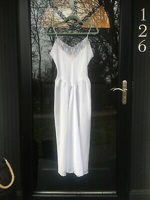 Vintage Victoria Secret Long Bridal Gown Nightgown Dress Sleepware