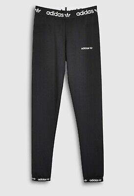 Girls Adidas Originals Poly Leggings  Black - Bnwt  Ages 7-8,8-9,9-10 Last Few
