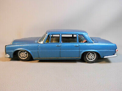 Blechspielzeug Tin Toy Mercedes Benz MB 280 W 108 Made in Japan PKW Old Toy