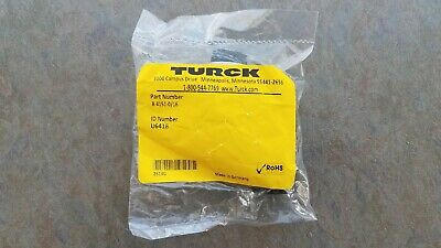 NEW Turck B 4151-0/16 Field Wire-able Female Connector U6418 SHIPS FREE