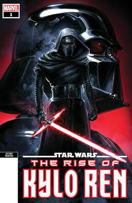 "Star Wars Rise Kylo Ren #1 2Nd Print Crain Spot Color Variant Marvel ""Lb8A"""