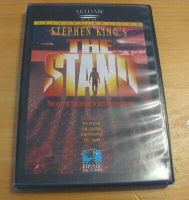 The Stand (DVD, double sided disc) STEPHEN KING'S Artisan NICE BOOKLET