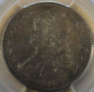 1817 Capped Bust Half Dollar 50c O-110 PCGS Certified AU50