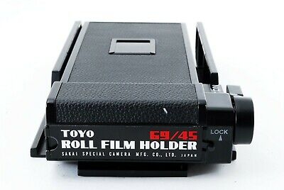 【Excellent 】TOYO Roll Film Holder 69/45 from JAPAN - 4697
