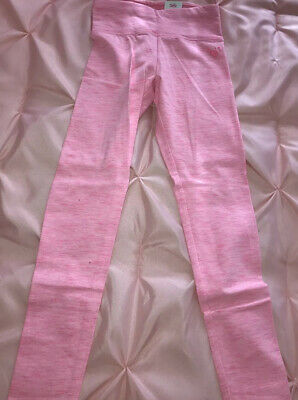 NWT Girls Justice Active Leggings Pants Size 8 Pink