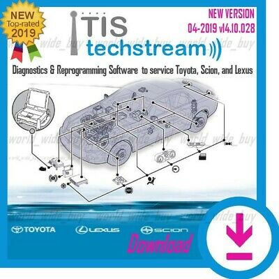 LATEST VERSION Toyota TIS Techstream V14.10 Diagnostic Software✔️download link