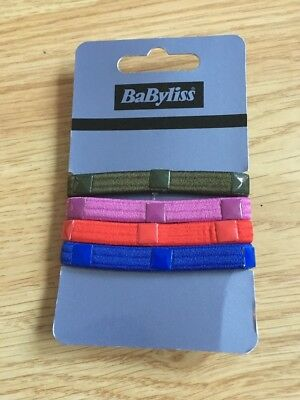 Babyliss Multi Ladies Kids Girls Hair Band Soft Grip Bobble Special Offer