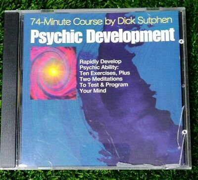 DICK SUTPHEN 74 minute course  psychic development meditation CD audio program