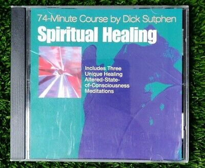 DICK SUTPHEN 74 minute course spiritual healing meditation CD audio program