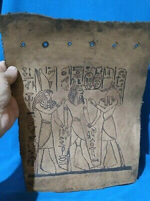 Pharaonic leather is very rare ancient civilization of Egypt.  2