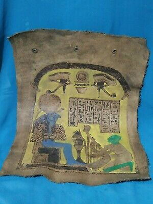 Horus, the symbol of justice, the ancient civilization of Egypt. leather