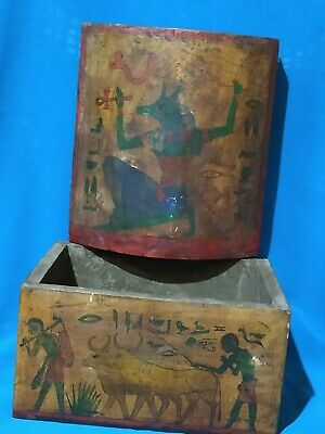 The Box of Secrets is a rare piece of ancient Egyptian civilization. Wood