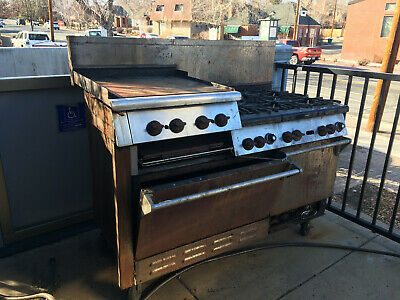 Wolf Challenger Commercial Range - 6 Burners, Griddle/Broiler, and Two Ovens