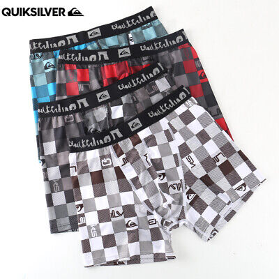 5 or 6 Pack Mens QuikSilver 40th Anniversary Limited Quick Dry Underwear S-XL