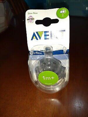 Avent Classic Teats Silicone 1 New Packet 1m+
