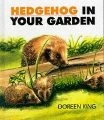 Hedgehog in Your Garden by Doreen King Hardback Book The Cheap Fast Free Post