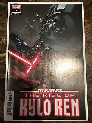 Star Wars The Rise Of Kylo Ren #3 1:25 Landini Variant NM