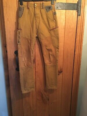 NEXT Signature Boys Brown Chino Slim Leg Trousers Age 11 Years Adjustable Waist