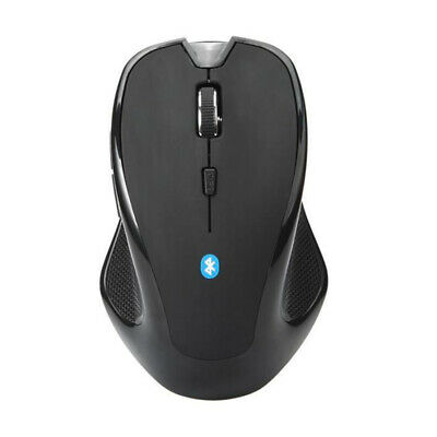 Mice Gaming Mouse Black 1600 DPI Optical Bluetooth 3.0 Laptop New 2018