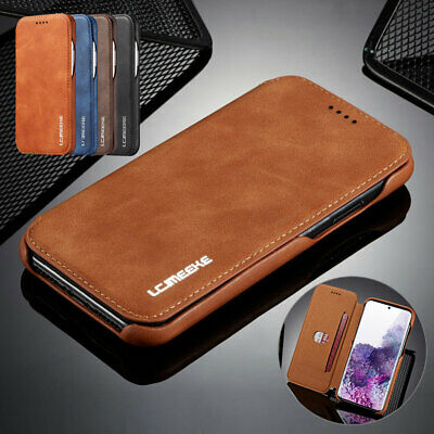 Samsung Galaxy S20 Ultra S20 S10 S9 S8 A20 A50 A70 Luxury Flip Wallet Case Cover